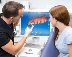 CEREC scanner machine