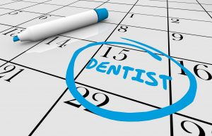 Appointment with dentist in Bothell.