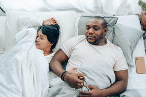 Man with untreated sleep apnea